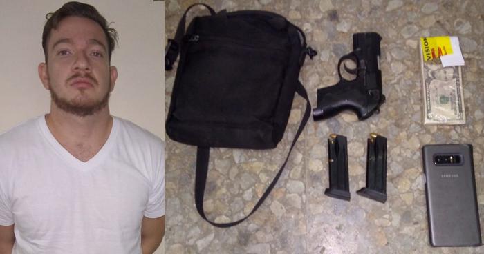 Capturan a sujeto armado por resistencia agresiva y otros delitos en San Martín