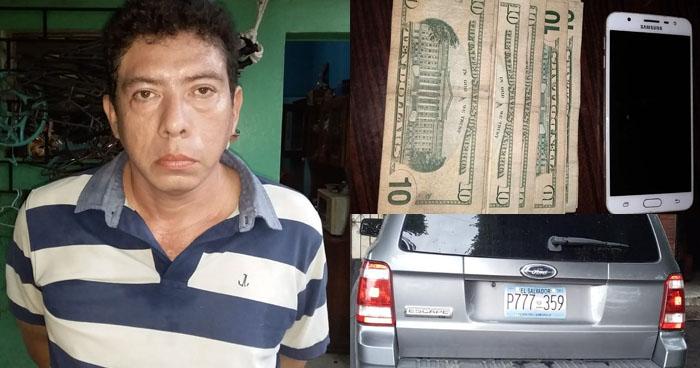 Capturan a traficante de cocaína en Nahuilingo, Sonsonate