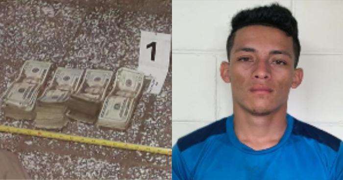 Capturan a sujeto con más de $10 mil de dudosa procedencia en paso fronterizo ilegal