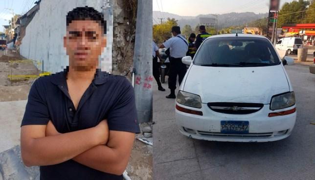 Conductor sin licencia atropella a una Gestor de Tráfico y es detenido en el Rancho Navarra