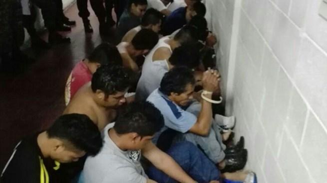 Capturan a más de 100 pandilleros en diferentes municipios de Cuscatlán y La Paz