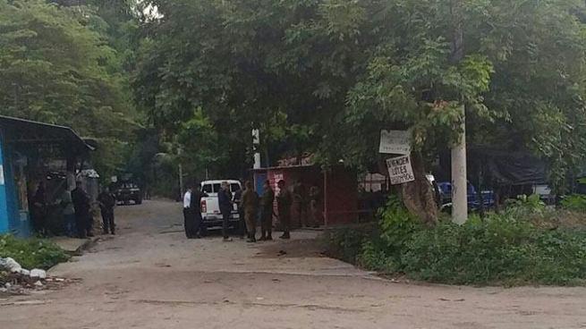Capturan a 6 sujetos en vías de investigación por asesinato de soldado en San Luis Talpa