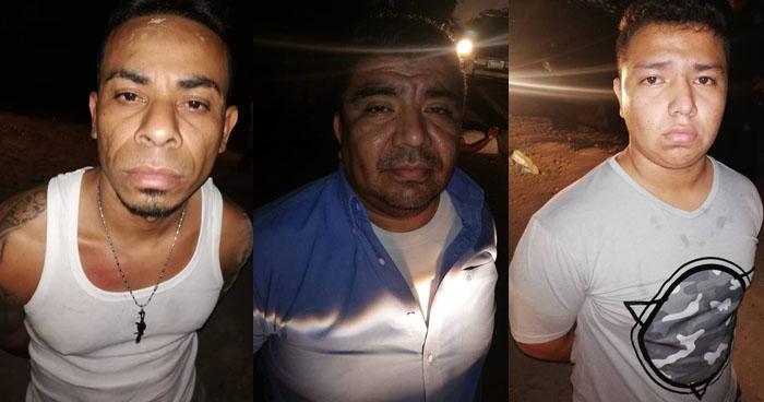 Capturan a pandilleros que atacaron y lesionaron a un policía en Ahuachapán