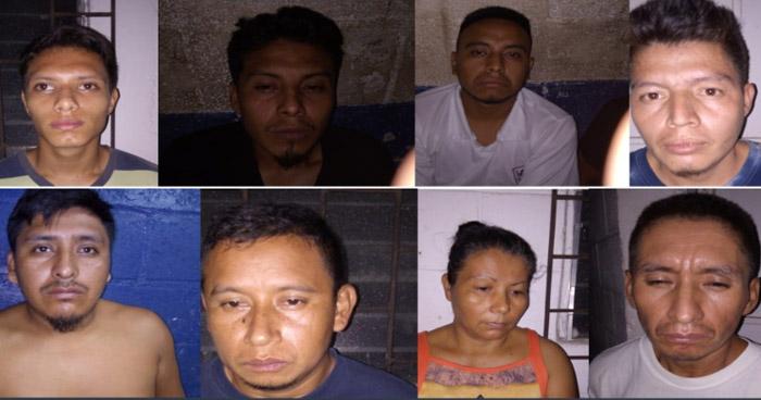 Capturan a pandilleros que delinquían en Ahuachapán