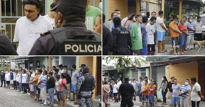 Un cabecilla y 40 criminales más capturados tras operativo en Apopa
