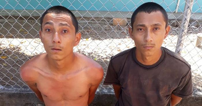 Capturan a pandilleros que tenían en su poder varias porciones de droga