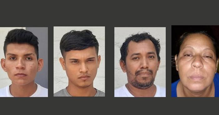 Capturan a pandilleros que asesinaron a una mujer en colonia Santa Marta, Sonsonate