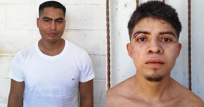Capturan dos sujetos buscados por homicidio en Cuscatlán y Santa Ana