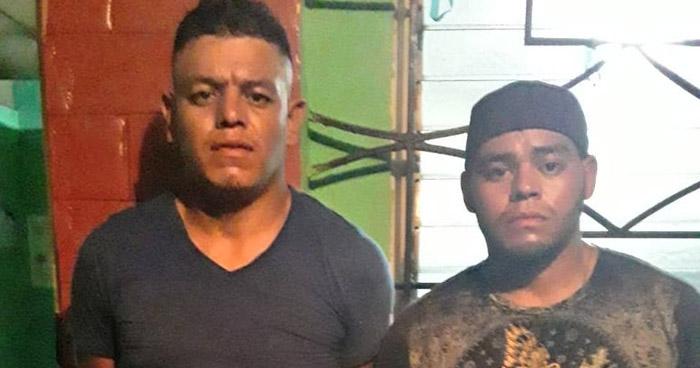 Capturan a sospechosos de haber asesinado un policía anoche en Guazapa