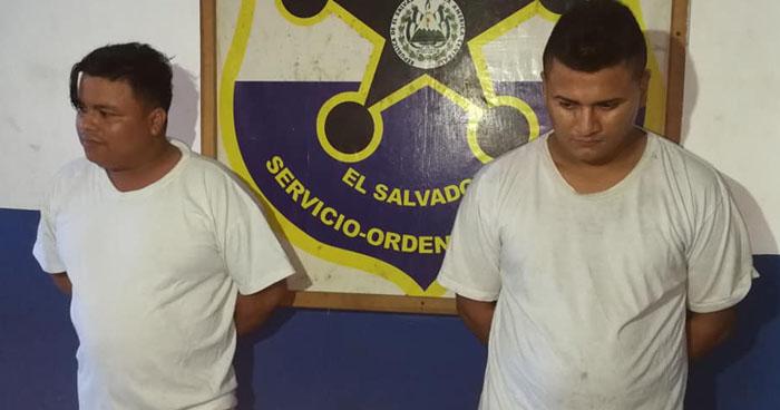 Capturan a dos nicaragüenses más que robaron 8 celulares en el carnaval de San Miguel