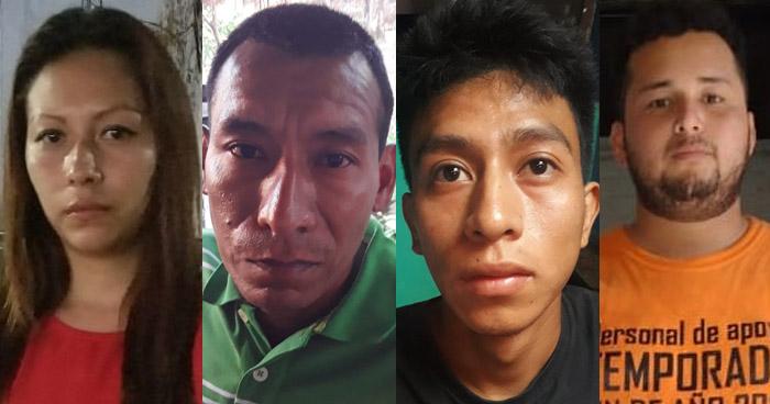 Una mujer y un hombre capturados por diferentes delitos en La Libertad