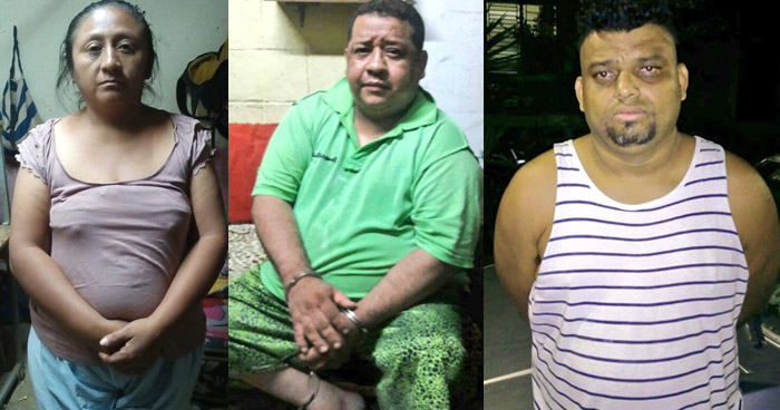 Capturan a delincuentes que dedicaban al contrabando de droga en diferentes zona de San Salvador