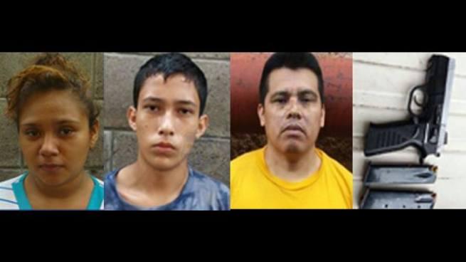 Capturan a 3 pandilleros que delinquían en Rosario de Mora, San Salvador