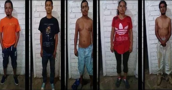 Capturan a 5 sujetos, cuando planeaban delitos, en una zona de El Refugio, Ahuachapán