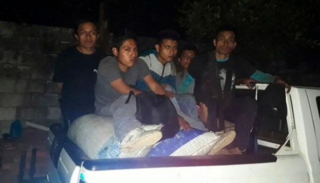 Capturan en Ahuachapán a sujetos que habían hurtado seis sacos de café