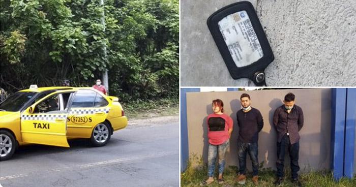 Tres pandilleros capturados tras robar un celular en San Vicente