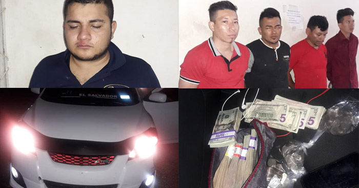 Incautan $13.500 a sujetos acusados de hurto en agencias de retiro y envío de remesas