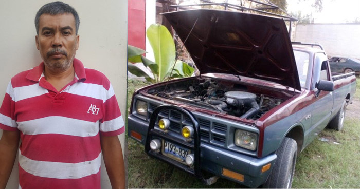 Desarticulan banda que se dedicaba a robar y desmantelar vehículos en Cuscatlán
