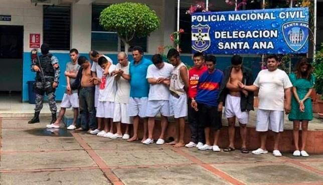 Capturan a 15 sujetos por diferentes delitos cometidos en Santa Anta