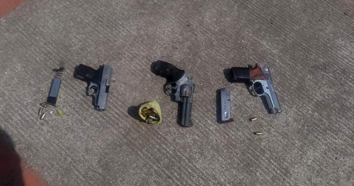 Capturan a supuestos asaltantes que operaban en Santa Ana