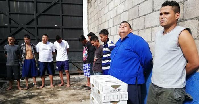 Capturan a contrabandistas y extorsionistas que operaban en Usulután