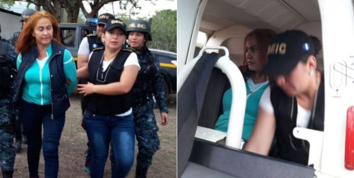 "PNC hace la entrega de ""La Patrona"" a autoridades de Guatemala"
