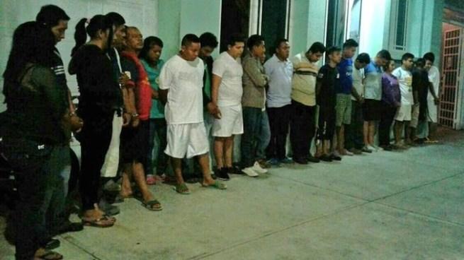 Capturan a más de 90 pandilleros tras fuerte operativo en Cuscatlán y San Salvador
