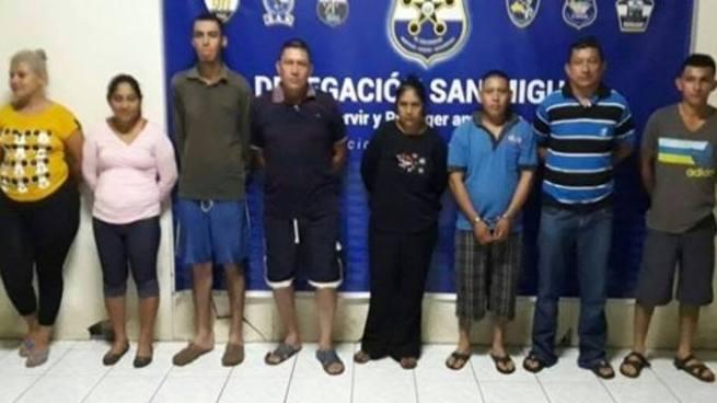 Detienen a criminales que extorsionaban en zona oriental del país