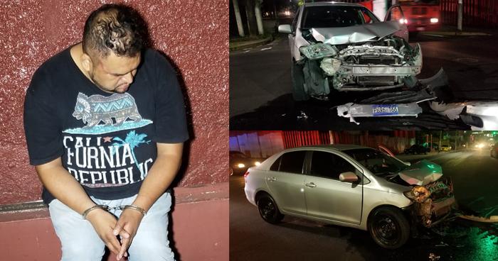 Capturan a conductor de UBER que ocasiono accidente y conducía en estado de ebriedad