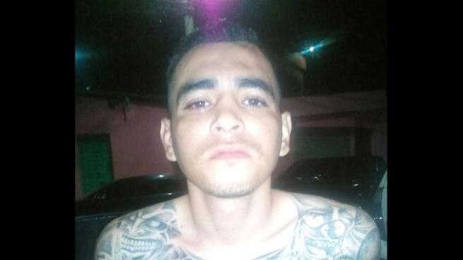 Pandillero intento no ser capturado por la PNC en San Salvador pero fue en vano