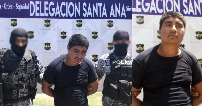 Capturan a pandillero que habría matado a policía en Chalchuapa