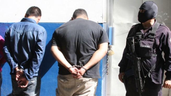 Un agente de la PNC y 40 pandilleros de la MS son capturados en el oriente del país