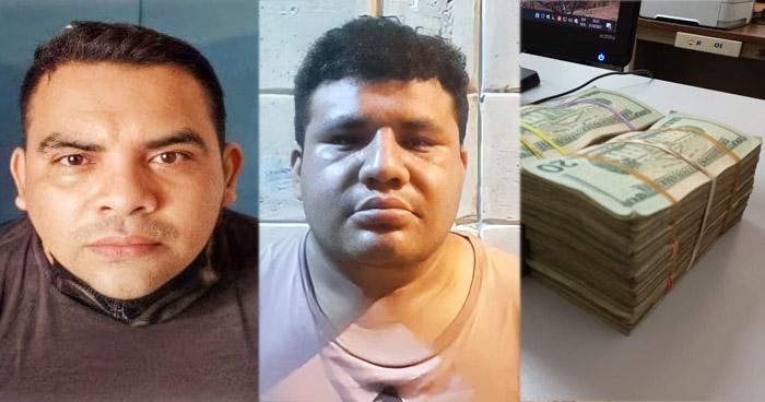 Sujeto huye y abandona $20 mil en zona fronteriza en Ahuachapán