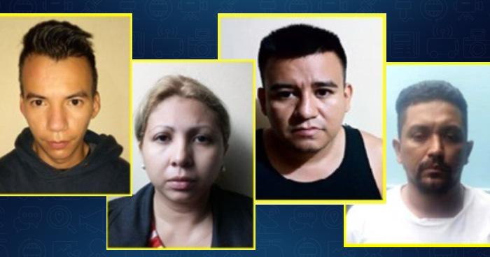 Estos son los 4 capturados tras el secuestro de una de madre e hija a la salida de un colegio