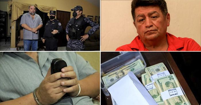 Alcaldes de San Rafael Obrajuelo y Zacatecoluca capturados por casos de Corrupción
