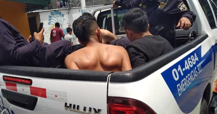 Capturados tras tiroteo en mercado La Tiendona