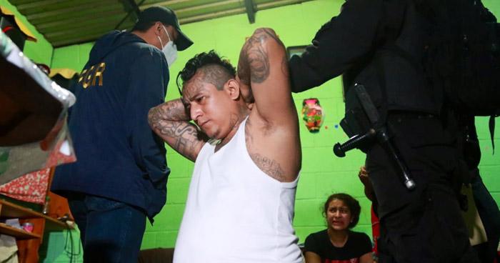 Cuatro cabecillas de pandillas entre capturados tras operativo en diversos puntos del país