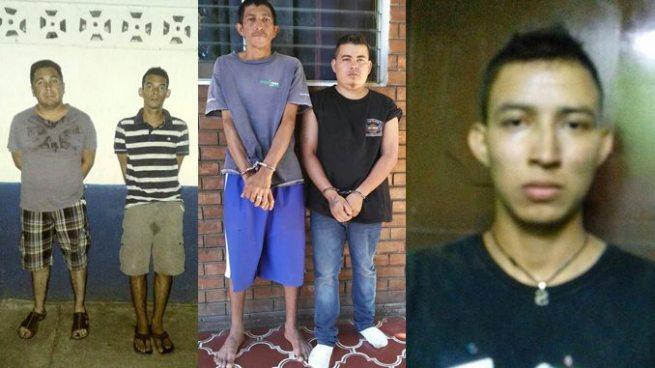 Arrestan a 5 sujetos por manipulación fraudulenta de tarjeta y otros ilícitos en Ahuachapán