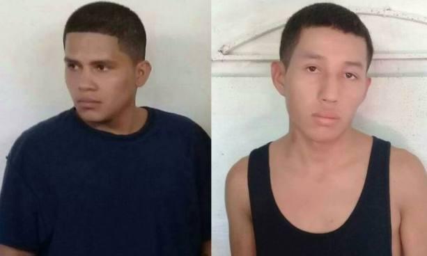 Capturan a sujetos por homicidio agravado, robo y otros delitos en Morazán