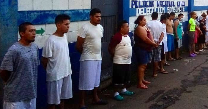 Capturan a 36 pandilleros que operaban en el occidente del país