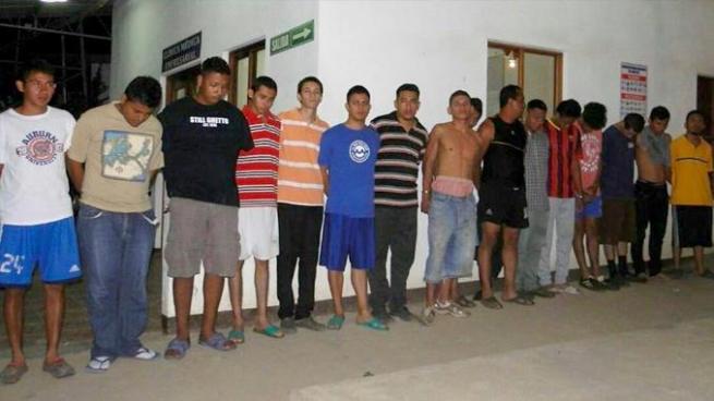Más de 20 sujetos capturados por diversos delitos tras operativo en Ahuachapán