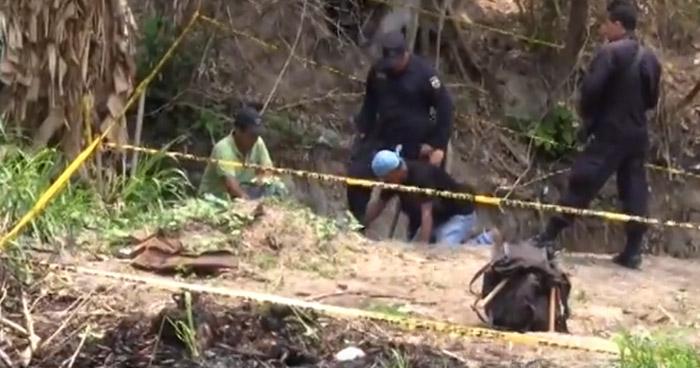 Hallan cementerio clandestino en Vista al Lago donde podrían estar los cadáveres de 4 soldados