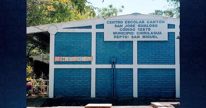 Saquean por tercera vez un centro escolar en Chirilagua, San Miguel