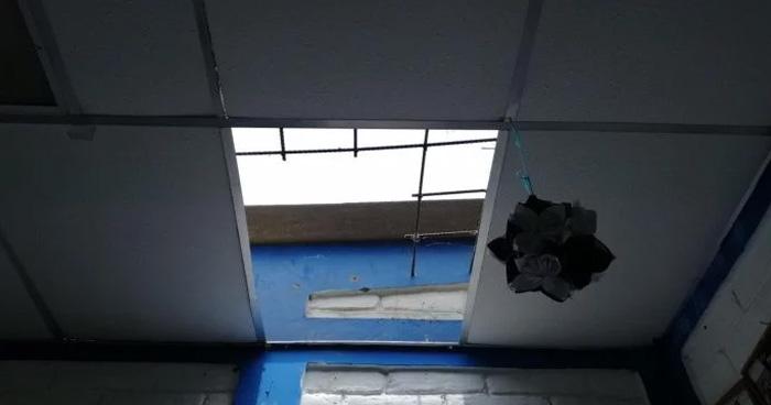 """""""Se llevaron todo"""" hurtan centro escolar de Apastepeque en San Vicente"""