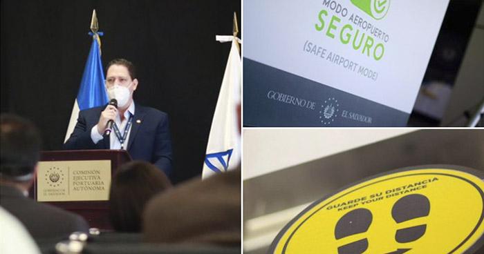 CEPA presenta protocolos de bioseguridad para el inicio de operaciones del Aeropuerto San Oscar Romero