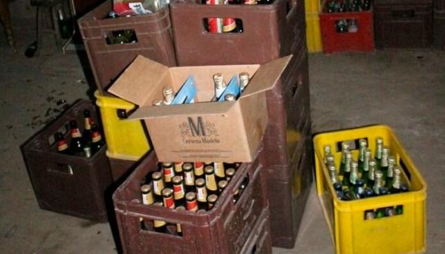 """Tres personas fueron capturadas por transportar 280 cervezas y violar la """"Ley Seca"""""""