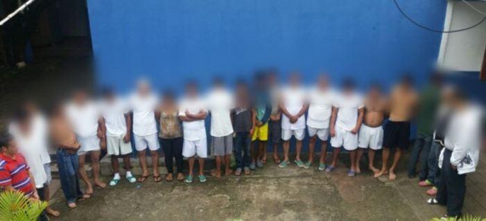 Capturan a 29 pandilleros por diferentes delitos en Chalatenango