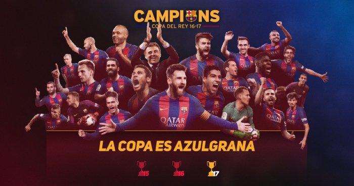 Barcelona Rey de Copas