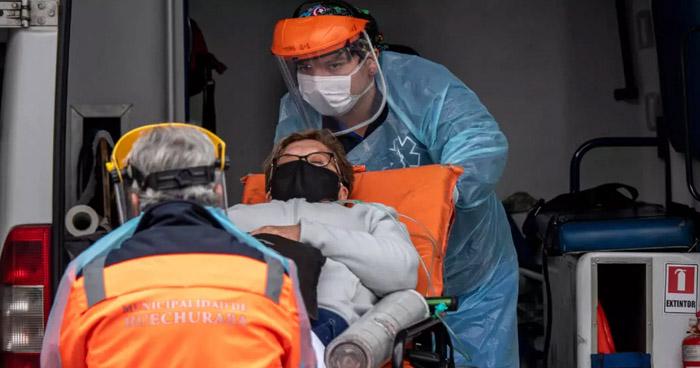 Chile registra los 100 mil casos de COVID-19