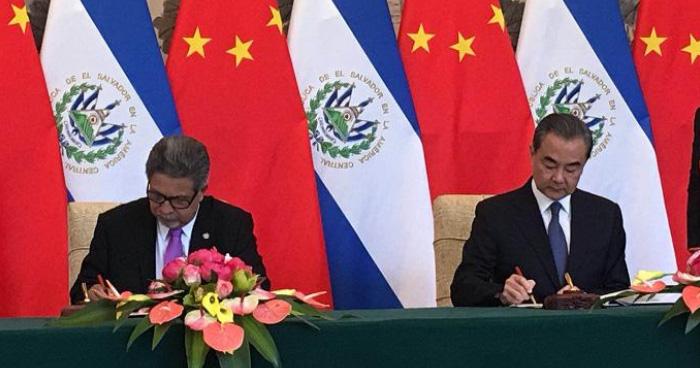 Gobierno salvadoreño rompe relaciones con Taiwan y las establecerá con China Popular